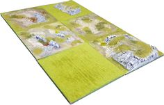 Modular Painted Terrain Board for Wargames & RPGs Pot Holders, Projects, Log Projects, Blue Prints, Hot Pads, Potholders