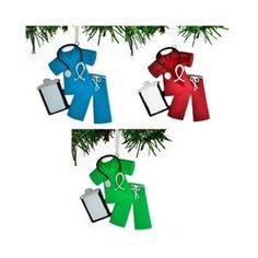 Blue Scrubs Personalized Christmas Ornament / Nurse Christmas | Etsy Burlap Baby Showers, Personalized Christmas Ornaments, Etsy App, Scrubs, Color Schemes, Messages, Holiday Decor, Blue, Design