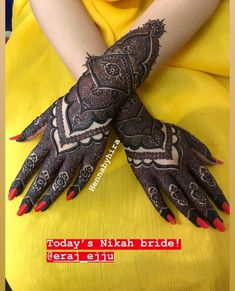 Kashee's Mehndi Designs, Stylish Mehndi Designs, Mehndi Designs For Fingers, Wedding Mehndi Designs, Mehndi Design Images, Beautiful Henna Designs, Hena Designs, Kashees Mehndi, Mehndi Style