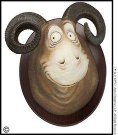 """Limited edition- Unorthodox Taxidermy """"The Goo-Goo-Eyed Tasmanian Wolghast"""" by Dr Seuss available at the R. Michelson Galleries or at rmichelson.com"""