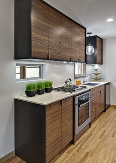 1000 Images About Modern Kitchen Inspiration On Pinterest Walnut Cabinets Modern Kitchen