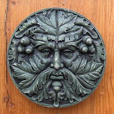 Ashdown Green Man This superbly detailed Green Man takes his name from Ashdown Forest in East Sussex, an ancient area of woodland also famous for being the home of Winnie the Pooh. All our ornaments are cast and coloured by hand at our workshop in Zeeland, the Netherlands. Cast in frost-proof casting stone the Ashdown …