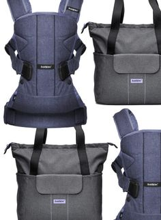 BabyBjörn Carrier and Diaper Bag - Well Rounded NY