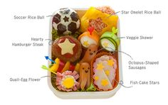 Your Own Japanese-Style Box Meal Make a Soccer-Ball Lunch with Fun Kitchen Tools http://www.nippon.com/en/views/b00201/