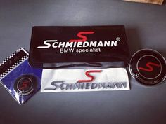 Emblem-mania! This customer is going Schmiedmann crazy. #schmiedmann #bmwspecialist #bmw