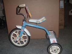 Vintage Tricycle, Care Bears, Hedstrom Co.