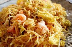 海老とキャベツの塩やきそば - すぐできる!エリオットゆかりのラクうま麺レシピ レシピブログ -料理ブログのレシピ満載!