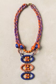 Petanque Necklace from Anthropologie