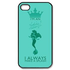 Manufacturers can produce custom chart within 1 days Custombox The Little Mermaid iphone 4s Case Plastic Hard Phone case iPhone -in Phone Ba...