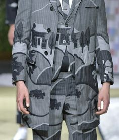 patternprints journal: PRINTS, PATTERNS, TEXTURES AND TEXTILE SURFACES FROM MENSWEAR S/S 2016 COLLECTIONS / PARIS CATWALKS 4