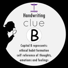 Handwriting Clue: B Improve Handwriting, Cursive Handwriting, Handwriting Recognition, Habit Formation, Handwriting Analysis, Palm Reading, Letter Form, Coach Me, School Psychology