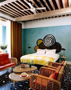 El diseño interior de las 19 habitaciones fue realizado por India Mahdavi.   Galería de fotos 7 de 11   AD MX