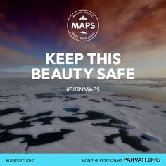 The Arctic Ocean is one of the most pristine and vulnerable ecosystems on the planet. It is home to a wide range of marine life including several endangered species. It is also unprotected. The Marine Arctic Peace Sanctuary (MAPS) makes all ocean waters north of the Arctic Circle an international park, free from exploitation. Please sign the MAPS petition now at Parvati.org. MAPS becomes a reality when each one of us speaks up in one voice to create a global movement.