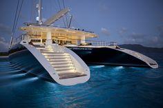 #Hemisphere - The world's largest #Luxury #Catamaran. This superb #marine #vessel is so #inspiring!