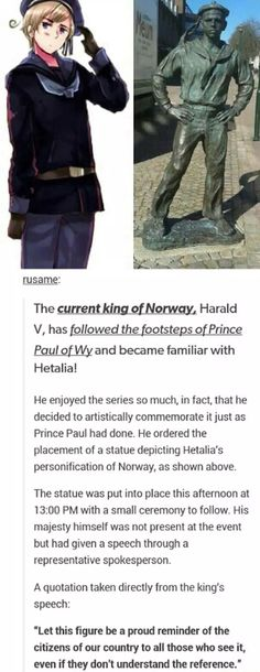 Hetalia fandom, started from the bottom now we're here. this is the best thing I've seen all day, you go Norway! xD <<<< this is hetalia where it shouldn't be billion Dennor, Usuk, Nordics Hetalia, Hetalia Anime, Prince Paul, Grimgar, Super Memes, Hetalia Funny, Cute Kittens