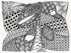 Art Unstructured: Zentangle