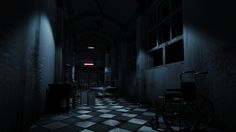 ArtStation - Psychiatric Hospital., Salvador Vargas