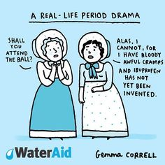 Over 1 billion women around the world do not have access to a toilet during their period.  Go to wateraid.org to sign the petition to help women live with the dignity they deserve.  #menstrualhygieneday @wateraid