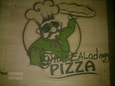 @theREALadogg #pizza #BeastHound approved!