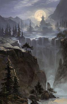 Moonfalls by AnDary on DeviantArt