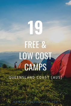 The Queensland coast is one of the most popular camping destinations in Australia. With pristine beaches, rainforest up the top and plenty of space, it's easy to see why. Here are 19 fantastic free and low cost camp sites that we've personally stayed at ourself. #camping #queensland #coast #free #travel