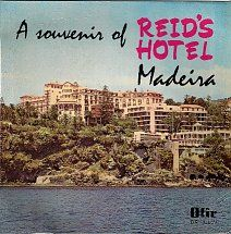 45cat - Tony Amaral And His Orchestra - A Souvenir Of Reid's Hotel, Madeira - Ofir - Portugal