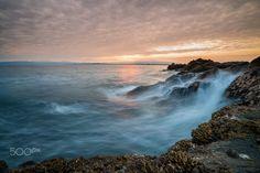 Enoshima - The southern coastline of Enoshima, Japan