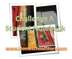 Challenge A Student Notebook - GREAT planner for our students! This is what Im talking about if someone could read my mind of what I exactly needed; THIS is it & will help me with our Non-traditional school keeping a logbook!