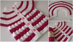 12-orgusu Bu Ebruli Degrade Bebek Örgü Viking Tattoo Design, Viking Tattoos, Baby Knitting Patterns, Crochet Patterns, Hat Patterns, Crochet Baby, Knit Crochet, Sunflower Tattoo Design, Baby Vest