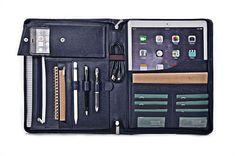 iPad Pro Portfolio,Leather Organizer Case with Pockets for iPad Pro | zsxiaozhi - Office & Business on ArtFire