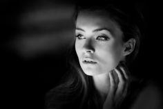 B&W woman by Jacek Klucznik on 500px