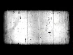 very old film look with scratches and border - HD overlay