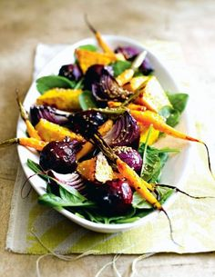 Vegetable salad  | More photos http://petitlien.fr/mincirdeplaisir
