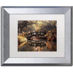 Trademark Fine Art Dream Fall Canvas Art by Philippe Hugonnard, White Matte, Silver Frame, Assorted