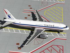 GEMINI JETS 200 1/200 UNITED A320 STARS & BARS RETRO REG#N475UA! MINT! G2UAL247