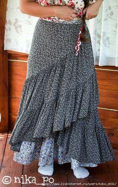 Шьем юбки на любой вкус - Юбка-обертка