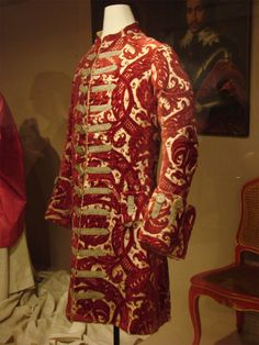 Gentleman's coat, late 17th/early 18th Century, Italy. Stibbert Museum - Florence