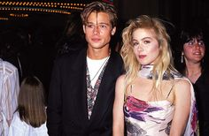Pin for Later: 66 Celebrity Couples You Most Definitely Forgot About Christina Applegate and Brad Pitt Christina and Brad got together briefly in 1988.
