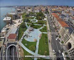 Los nuevos Jardines de Pereda (Julio de 2014). Santander, Cantabria, España. ✿⊱╮Teresa Restegui http://www.pinterest.com/teretegui/✿⊱╮