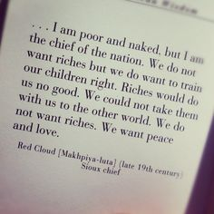We want peace and love. #quotes