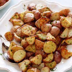 Garlic Roasted Potatoes By Ina Garten