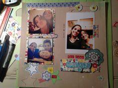 Scraplift de una pagina de Patricia (taller del Scrap)