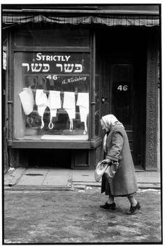 NYC 1957 Kosher Butcher on the Lower East Side (Inge Morath)
