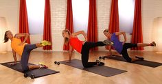 10-Minute Tush-Toning Pilates Workout  -  this workout will sculpt and tone your backside.