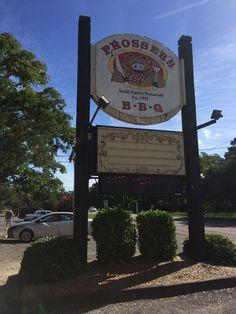 Prosser's Bar-B-Que in Murrells Inlet, SC