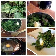 Easy Recipe: Spinach Salade Lyonnaise #FarmFreshNow