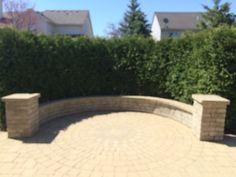Brick pavers by All Natural Landscapes of Hartland Michigan Hartland Michigan, Brick Paver Patio, Wall Design, Landscapes, Decoration, Natural, Outdoor Decor, Home Decor, Courtyards