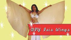DIY Isis Wings Veil Wings