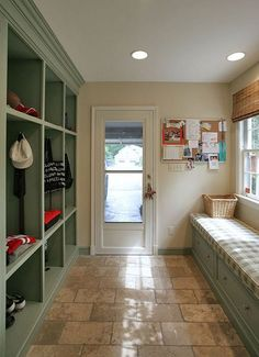 I like the big open storage areas for each person. Shoes either on or close to the floor. I like the bench on the other side. - mcg