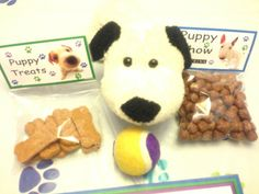 Every Kid got one  puppy treats are Scooby snacks  and chow is coco puffs